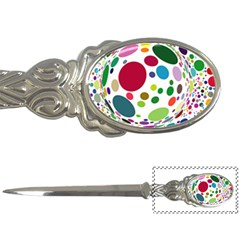 Color Ball Letter Openers