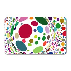 Color Ball Magnet (rectangular) by Mariart