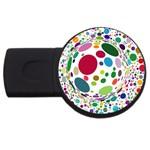 Color Ball USB Flash Drive Round (2 GB)