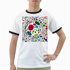 Color Ball Ringer T Shirts
