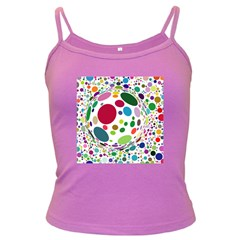 Color Ball Dark Spaghetti Tank