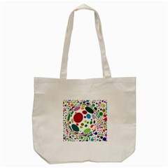 Color Ball Tote Bag (cream)