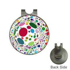 Color Ball Hat Clips With Golf Markers
