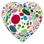 Color Ball Jigsaw Puzzle (Heart)