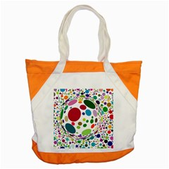 Color Ball Accent Tote Bag