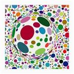 Color Ball Medium Glasses Cloth (2-Side)
