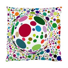 Color Ball Standard Cushion Case (one Side) by Mariart