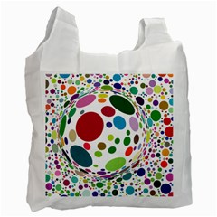 Color Ball Recycle Bag (one Side) by Mariart