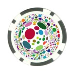 Color Ball Poker Chip Card Guard (10 pack)