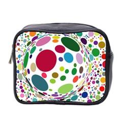 Color Ball Mini Toiletries Bag 2 Side