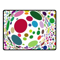 Color Ball Fleece Blanket (small)