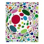 Color Ball Shower Curtain 60  x 72  (Medium)