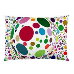 Color Ball Pillow Case (two Sides)