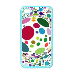 Color Ball Apple Iphone 4 Case (color)