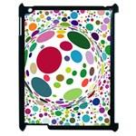 Color Ball Apple iPad 2 Case (Black)