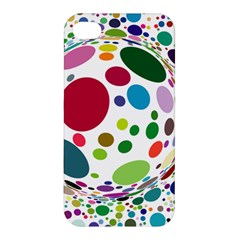 Color Ball Apple Iphone 4/4s Premium Hardshell Case