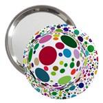 Color Ball 3  Handbag Mirrors