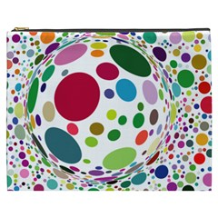 Color Ball Cosmetic Bag (xxxl)