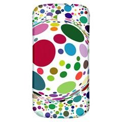 Color Ball Samsung Galaxy S3 S Iii Classic Hardshell Back Case