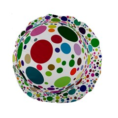 Color Ball Standard 15  Premium Round Cushions