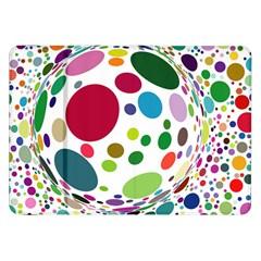 Color Ball Samsung Galaxy Tab 8 9  P7300 Flip Case