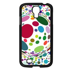 Color Ball Samsung Galaxy S4 I9500/ I9505 Case (black)