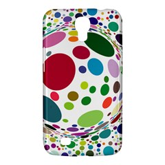 Color Ball Samsung Galaxy Mega 6 3  I9200 Hardshell Case