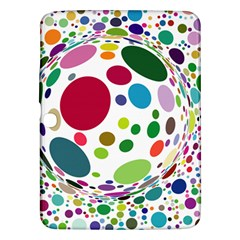 Color Ball Samsung Galaxy Tab 3 (10 1 ) P5200 Hardshell Case