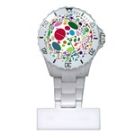 Color Ball Plastic Nurses Watch