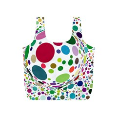 Color Ball Full Print Recycle Bags (s)