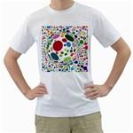 Color Ball Men s T-Shirt (White)
