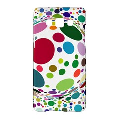 Color Ball Samsung Galaxy A5 Hardshell Case  by Mariart