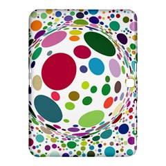 Color Ball Samsung Galaxy Tab 4 (10 1 ) Hardshell Case