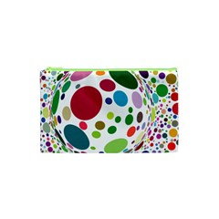 Color Ball Cosmetic Bag (xs) by Mariart