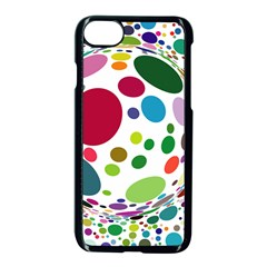 Color Ball Apple Iphone 7 Seamless Case (black) by Mariart