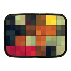 Background With Color Layered Tiling Netbook Case (medium)  by Simbadda