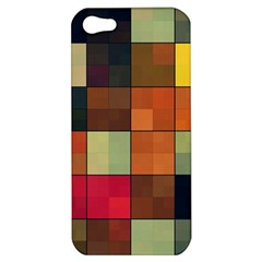 Background With Color Layered Tiling Apple iPhone 5 Hardshell Case