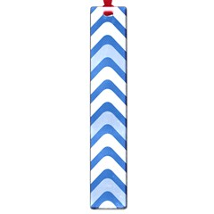 Background Of Blue Wavy Lines Large Book Marks by Simbadda