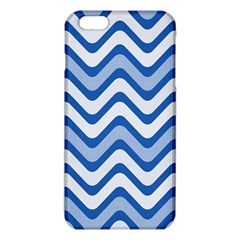 Background Of Blue Wavy Lines Iphone 6 Plus/6s Plus Tpu Case by Simbadda