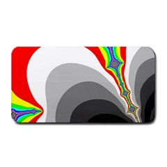 Background Image With Color Shapes Medium Bar Mats by Simbadda