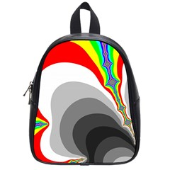 Background Image With Color Shapes School Bags (small)  by Simbadda