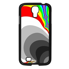 Background Image With Color Shapes Samsung Galaxy S4 I9500/ I9505 Case (black) by Simbadda