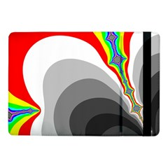 Background Image With Color Shapes Samsung Galaxy Tab Pro 10 1  Flip Case by Simbadda