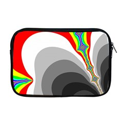 Background Image With Color Shapes Apple Macbook Pro 17  Zipper Case