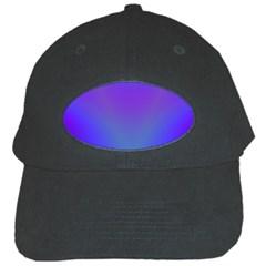 Violet Fractal Background Black Cap by Simbadda