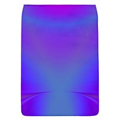 Violet Fractal Background Flap Covers (s)  by Simbadda