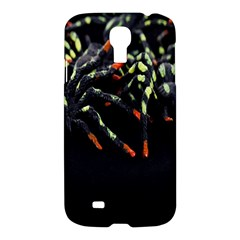 Colorful Spiders For Your Dark Halloween Projects Samsung Galaxy S4 I9500/i9505 Hardshell Case by Simbadda
