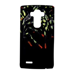 Colorful Spiders For Your Dark Halloween Projects Lg G4 Hardshell Case by Simbadda
