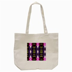 Geometric Abstract Background Art Tote Bag (cream) by Simbadda