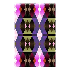 Geometric Abstract Background Art Shower Curtain 48  X 72  (small)  by Simbadda